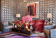 Kelly Wearstler is the ultimate trendsetter in interior design. She's the founder of the Los Angeles architectural interior design firm KWID (Kelly Wearstler Top Interior Designers, Interior Design Tips, Best Interior, Interior Inspiration, Interior Decorating, Design Inspiration, Decorating Tips, Design Blogs, Design Interiors