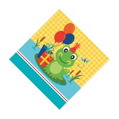 Frog Pond Fun Luncheon Napkins - OrientalTrading.com