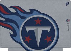 Microsoft - Surface Pro 4 Special Edition NFL Type Cover - Tennessee Titans, QC7-00153