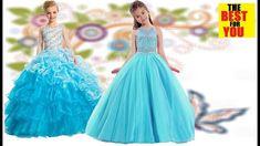 LATEST Long Dresses for girls KIDS fashion dresses for girls dress in am. Indian Dresses For Kids, Gowns For Girls, Dresses Kids Girl, Toddler Girl Outfits, Latest Long Dresses, New Long Dress, Anarkali, Lehenga, Gown Dress Design
