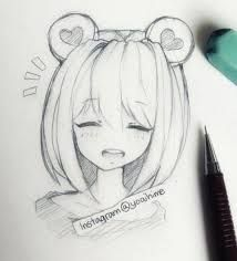 visual result related to easy anime drawing techniques Source by # Girl Drawing Images, Anime Drawings Sketches, Anime Sketch, Manga Drawing, Easy Drawings, Manga Art, Anime Art, Drawing Hair, Drawing Techniques