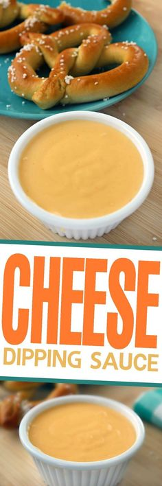 This is a Classic Cheese Dipping Sauce Recipe perfect for pairing with pretzels or nachos as an appetizer and works great over veggies like broccoli too! (Nacho Cheese Dip)