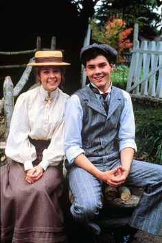 Anne of Avonlea (1987)-Megan Fellows as Anne and Jonathan Crombie (1966-2015) as Gilbert