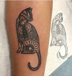 Idea to fill in the elephant tat