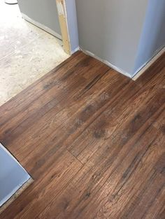 Home Decorators Collection Distressed Brown Hickory 12 mm ...