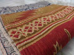 Vintage Kantha Quilt Reversible Kantha by IndianHomeTextile on Etsy, $42.99