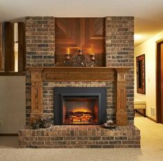 The Gallery Electric Fireplace Insert by The Outdoor GreatRoom Company