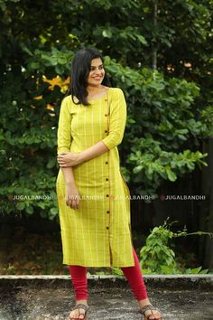 Different types of necklines to try in your kurtis - Simple Craft Ideas Salwar Designs, New Kurti Designs, Kurta Designs Women, Kurti Designs Party Wear, Kurti Sleeves Design, Kurta Neck Design, Sleeves Designs For Dresses, Dress Neck Designs, Neck Design For Kurtis