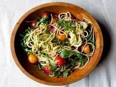 40 pasta recipes from  Saveur