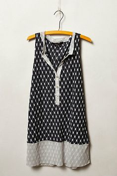 Bisector Mesh Tunic from Anthropologie Would look cute with dark skinny jeans
