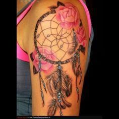 Dream Catcher Tattoo Poster photo - 3