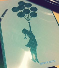 Banksy Stencil Flying Girl and Balloons STENCIL / reusable stencil / Stencils wall painting decor / Home wall art decor Wall Painting Decor, Wall Art Decor, Banksy Stencil, Adhesive Stencils, Its A Girl Balloons, Types Of Painting, Home Wall Art, Paint Colors, Card Making