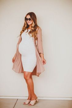 Gently used designer maternity brands you love at up to - White Lace Maternity Dress, White Maxi Dresses, Maternity Dresses, Maternity Fashion, Summer Maternity, Chic Maternity, Maternity Styles, Maternity Pictures, Pregnancy Outfits