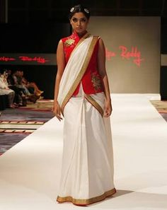 saree with jackets - Google Search