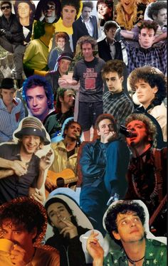 Collage Gustavo Cerati Soda Stereo, Rock Music, My Music, El Rock And Roll, Dancing In The Dark, Corey Taylor, Rock Artists, Music Memes, Film Music Books