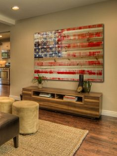 American Flag (Pinewood) by Marmont Hill at Gilt