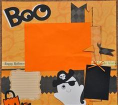I used Create A Critter 2 to make this layout. All papers are DCWV Halloween