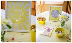 You Are My Sunshine Birthday Party--printable, lemonade stand, food ideas @ Rub Some Dirt On It