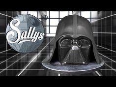 Star Wars Darth Vader Torte / Cake Tutorial - YouTube