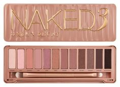 Urban Decay Naked 3 Palette- By far the BEST of all 3 of the Naked palettes! The colors are absolutely gorgeous and much more convenient since the colors are a little more to the warmer side, perfect for everyday! Although it's super pink and glittery, very girly. If you're not a fan of those types of colors than you probably shouldn't get it! I personally love it!
