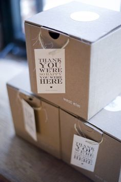 thank you boxes for baklava
