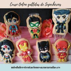Curso online galletas de superhéroes