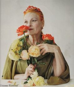 Vivienne Westwood is such an inspirational designer and creative spiri