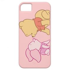 Winnie The Pooh Pooh and Piglet crawling iPhone 5 Case