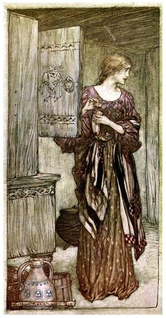 The Ring of the Niblung - The Valkyrie 02 - Arthur Rackham