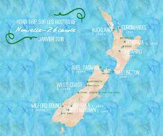 Bons plans pour préparer son voyage en Nouvelle-Zélande : itinéraire de notre séjour sur les deux îles en 3 semaines