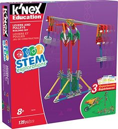 K'NEX Education STEM EXPLORATIONS: Levers & PULLEYS Build... https://www.amazon.com/dp/B01MPY6ICS/ref=cm_sw_r_pi_dp_x_Wr4izbAMJFRDS