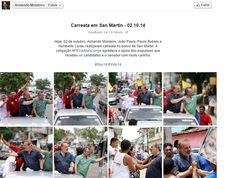 Trabalho na campanha do candidato ao Governo de Pernambuco Armando Monteiro Neto.