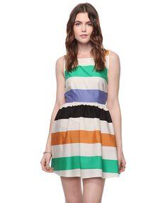 Colorblocking & stripes. $22.90, Forever 21.
