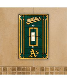 Memory Company Oakland Athletics Switch Plate Cover