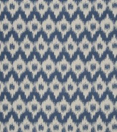 Upholstery Fabric-French General Cecilia Indigo