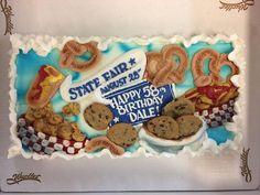 Minnesota State Fair theme birthday cake