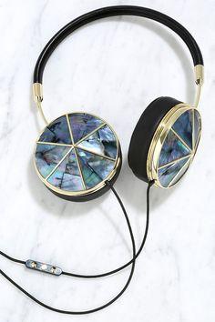 Tahitian Pearl Cap Set Headphones. Perfect gift for your land locked mermaids!