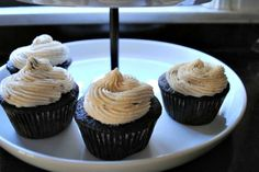 Beer & Chocolate Cupcakes: A Classic with a Grown-Up Twist. A delicious treat for grown-ups!