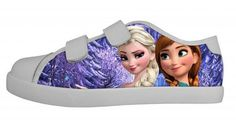 Frozen Clothing/Shoes/Accessories - Addicted To Disney Frozen Boutique  Disney Frozen's Girls Canvas Running Shoe