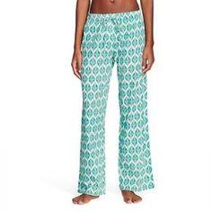 Flora by Rockflowerpaper Women's Woven Sleep Pajama Pant - Whitney Ocean : Target