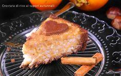 Crostata di riso ai sapori autunnali vegan senza glutine http://www.senzaebuono.it/crostata-di-riso-vegan-senza-glutine/