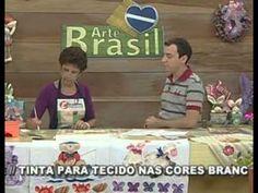 ARTE BRASIL -- NANCI GALLINI -- PANO DE COPA COM PATCH APLIQUÊ (20/04/20...