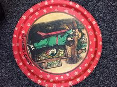 Six Under Six: Chic and Cheerful Holiday pieces   DC Goodwill Fashionista: Vintage Holiday Flair: Undeniably, my favorite part about holiday shopping at Goodwill is finding those one-of-a-kind pieces. This Farmer's Almanac vintage tin tray was only $0.96 and it was in pristine condition.