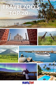 1,000+ companies worldwide for their very best travel deals from our Top 20 list. Explore at http://www.travelzoo.com/top20/ | Travel Tips | Budget Friendly Vacations