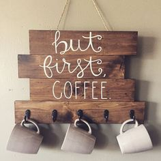 Enhances The Feel And Look Of Your Kitchen Area with DIY wood signs.