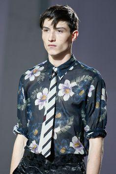 250a260cb9245 Dries Van Noten Spring 2014 Menswear Collection Slideshow on Style.com  Men s Fashion