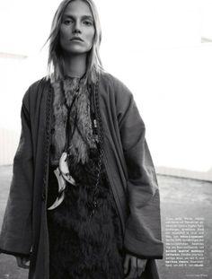 Vogue Alemanha Fevereiro 2014 | Suvi Koponen por Knoepfel & Indlekofer  http://www.nomad-chic.com/