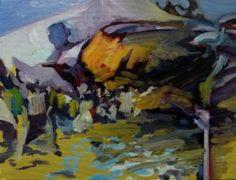"Saatchi Art Artist Robert Rost; Painting, ""Crashed Bird"" #art"