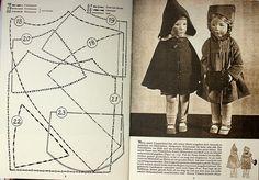 Pelerine und Mantel by *Püppilottchen aka dollily*, via Flickr