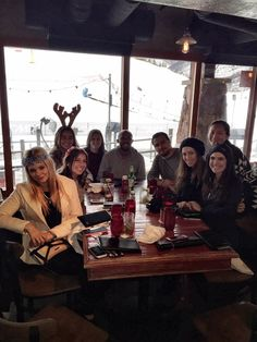 UCLA Anderson 2014 ski trip, where both first and second year students de-stressed from exams. #MBAadventure